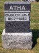 Profile photo:  Charles L. Atha