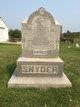 Ellen <I>Baker</I> Snyder