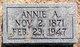 Annie J. <I>Askins</I> Dameron