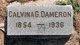 Calvina <I>Garner</I> Dameron