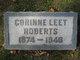 Corrine E. <I>Leet</I> Roberts
