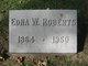 Edna W. Roberts