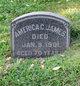 Profile photo:  America C James