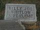 Profile photo:  Billy Joe Whitlow