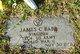 Profile photo:  James Claiborne Babb