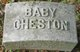 Profile photo:  Baby Cheston