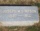 Joseph White Simpson