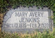 Mary Ransom <I>Avery</I> Jenkins