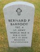 Profile photo:  Bernard Paul Barfoot