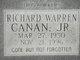 Profile photo:  Richard Warren Canan Jr.