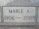 Profile photo:  Mable A Krumm