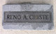 Reno Anthony Chiste