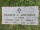 Francis E Anthony