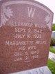 Margarette <I>Mears</I> Wilson