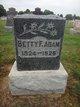 Profile photo:  Betty F. Adam