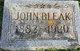 John Bleak Jr.