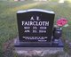 Profile photo:  A. E. Faircloth