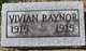 Vivian Raynor