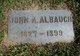 John A Albaugh