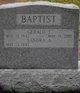 Profile photo:  Gerald J. Baptist