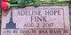 Adeline Hope Fink