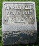 Profile photo:  Charles Klein