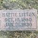 Profile photo:  Hattie Litton