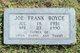 Joe Frank Boyce