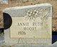 Profile photo:  Annie Ruth Moore