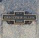 Carolyn R Allen