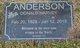 Donald Harvey Anderson