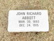 John Richard Abbott