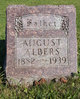 Profile photo:  August H Albers