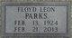 Floyd Leon Parks