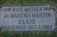 Profile photo:  Almarena <I>Martin</I> Ellis