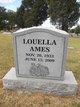 "Profile photo:  Louella ""Lou"" <I>Richardson</I> Ames"