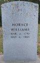 Profile photo:  Horace Williams