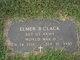 Profile photo:  Elmer Bowden Clack
