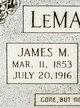 James M LeMaster