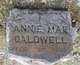 Profile photo:  Annie Mae Caldwell