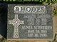 Profile photo:  Agnes <I>Schneider</I> Rhodes