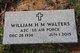 """Profile photo:  William Harold Morgan """"Buck"""" Walters"""