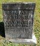 Sarah Ann <I>Sloman</I> McWhorter