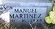 Profile photo:  Manuel Martinez