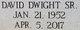 David Dwight Ayers, Sr