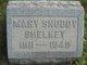 Mary Elizabeth <I>Snoddy</I> Shelkey