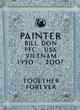 "Profile photo: PFC Bill Don ""Billy"" Painter"