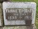 Fannie E. <I>Wickes</I> Haxton