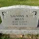 Salvina <I>Barstad</I> Mills
