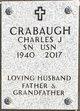 Profile photo:  Charles J Crabaugh